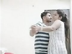 New Indian married couple enjoy