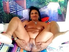 Indian busty big ass mature hardcore masturbate on cam on ChatGirls.cloud